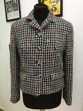 versace giacca dona jacket coat jacke chaqueta tg.32-46