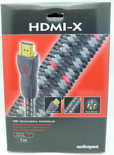 Audioquest HDMI-X 1 meter HDMI Cable