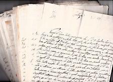 TAORMINA- N° 25 LETTERE PREFILATELICHE periodo 1829/ 1840