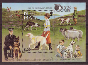 ISLE OF MAN 1996 DOGS FINE USED
