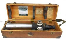 Keuffel & Esser K&E Telescope Cn9092-2, Serial 135907, In Wooden Box