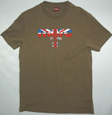 MERC LONDON MENS TEE SHIRT IN JET GREY SIZE M NWT