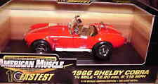 1966 Shelby Cobra Red 1:18 Ertl American Muscle 32760