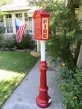 Gamewell Post Pedestal for mounting Fire  Alarm Callbox