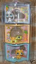 Littlest Pet Shop 346 349 350 Turtle Bunny Cat ++