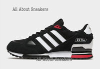 "Adidas ZX 750 HD ""Black White Red"" Men's Trainers All Size Limited Stock"