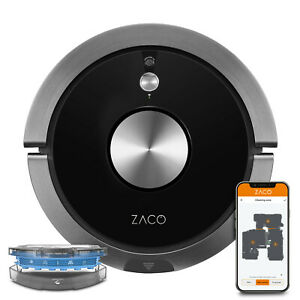 ZACO A9sPro 2in1 Saugroboter mit Wischfunktion Ladestation Roboterstaubsauger