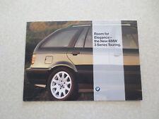 Original 1995 BMW 320i 328i automobiles advertising brochure