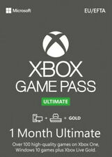 Xbox Game Pass Ultimate - Game Pass + Live Gold - 1 Month - Instant Dispatch