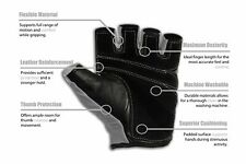 RIMSports Gym Gloves for Powerlifting Weight Training Weights Lifting Gloves