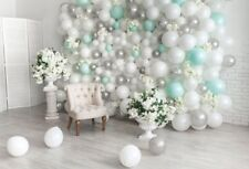 Baby Shower Photography Background Naonatal Kids Baby Room Backdrop Balloon Wall