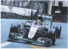 Lewis Hamilton GP MONACO 2016, art print