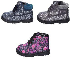 ASSO scarpe bambina stivaletti polacchini blu grigio camoscio strass rosa pelle