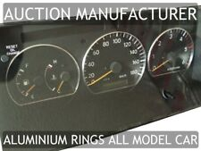 Toyota Hiace  Aluminium Polished Chrome Dial Rings Set Of 3 New