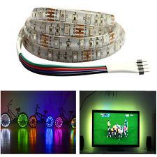 1M 5050 30SMD/M RGB LED Strip Light Bar TV Back Lighting Kit USB Port HOT T9