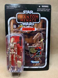 Star Wars Vintage Collection VC 78 Battle Droid - Unpunched