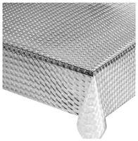 Chiffon Transparent Qudretti par Mètre h140 PVC Anti Tache Table Salon Déjeuner