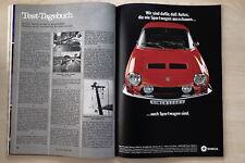 Simca 1200 S - Anzeige/Werbung