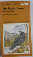 1974 OS Ordnance Survey Outdoor Leisure 1:25000 Map The English Lakes South West