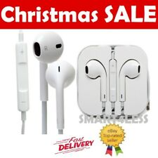 New Earphones Headphones Headset iPhone 6s 6 5c 5s 5 SE iPad iPod With Mic