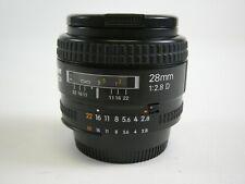Nikon AF Nikkor 28mm f2.8D lens