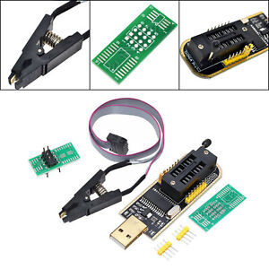 USB Programmer CH341A Series Burner Chip 24 EEPROM BIOS Writer 25 SPI Flash SK