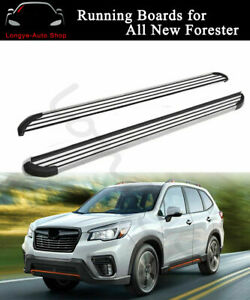 Running Board fits for Subaru Forester 2019-2021 Side Step Nerf Bars Protector