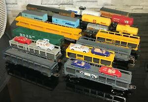 JOUEF LIMA MEHANO FOBBI, Lot 17 Wagons, Vehicules, Marchandise, Citerne. 1/87 HO