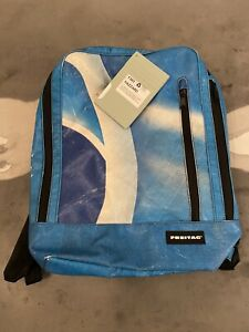 Freitag F303 Hazzard Backpack Rucksack Blue Brand New With Tags