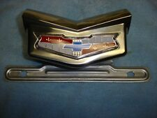 1959 CHEVROLET EL CAMINO, WAGON, DELIVERY, LICENSE BRACKET