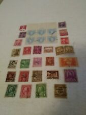 Vintage Lot Of 32 Used Stamps