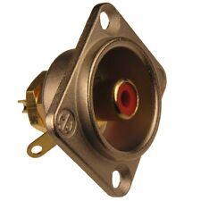 Neutrik nf2d-2 cinch-instalación conector RCA Type D niquelados dorado rojo 853852