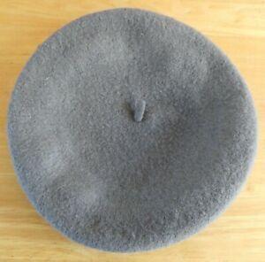 Ladies Joules 100% Wool Grey Wilsford Beret - One Size