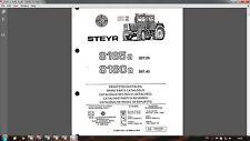 Steyr 8165 SK2 8180 SK2 tractor parts catalog in PDF format