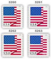 5260-63 5261 5262 5263 Flag Forever Complete Set of Four From 2018 MNH - Buy now