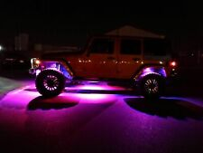 ALL Color LED Rock Lights Underbody Offroad For JEEP Wrangler JK JL JKU TJ CJ LJ
