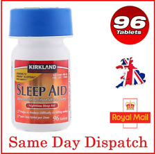 More details for kirkland sleep aid sleeping pill doxylamine succinate insomnia 25mg tablets x 96