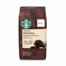 Starbucks Mocha Flavored Ground Coffee, 11-ounce Bag
