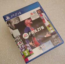 FIFA 21 Fußball Spiel für Sony Playstation 4 ps4 komplett 2021-Free UK Porto