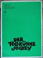 Werberatschlag Der tollkühne Jockey - Dean Martin Jerry Lewis  - CIC -