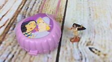Polly Pocket Disney Pocahontas Shell Necklace Compact Vintage Toy With 1 Figure
