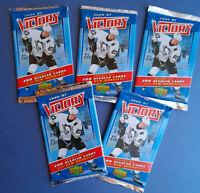 SALE - 2006-07 Upper Deck Victory NHL Hockey Lot of 5 unopened Packs