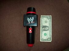WWE RAW TOY TALKING MICROPHONE SOUND EFFECTS WORK WWF WcW ECW NXT PRO WRESTLING