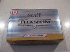 Wilson Staff Hyper Titanium 'Maximum Distance' - Box of 8 only, Brand new!