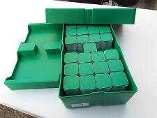 Lot-4) Silver Eagle 1 oz. Monster Box U.S Mint W/100 Empty Tubes TTL (NO COINS)