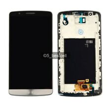 For OEM LG G3 D850 D855 VS985 LS990 AS990 Grey LCD Display+Digitizer Touch+Frame