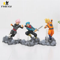 Dragon Ball Z Super Soul X Son Goku Trunks PVC Action Figures Model Toys