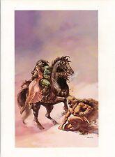 "1978 Full Color Plate ""The Broken Sword"" by Boris Vallejo Fantastic GGA"