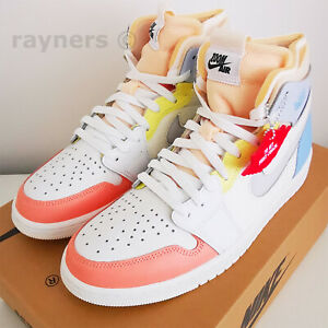 Nike Air Jordan 1 High Zoom CMFT To My First Coach UK 9 EUR 44 DJ6910 100