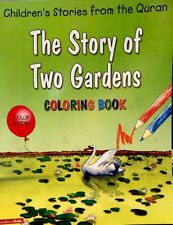 "The Story Of Two Gardens""coloring Book""islami,kid's,Book"